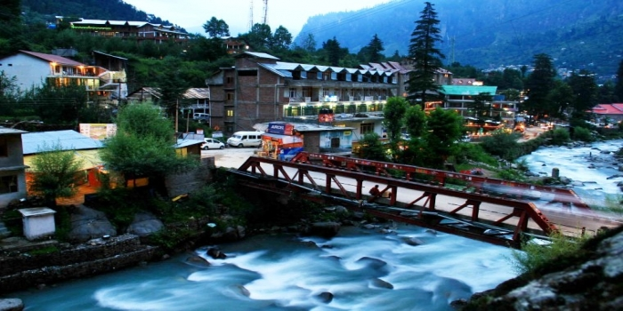Adventure Tour Package : Chandigarh To Kullu Manali (5 Days/4 Nights)